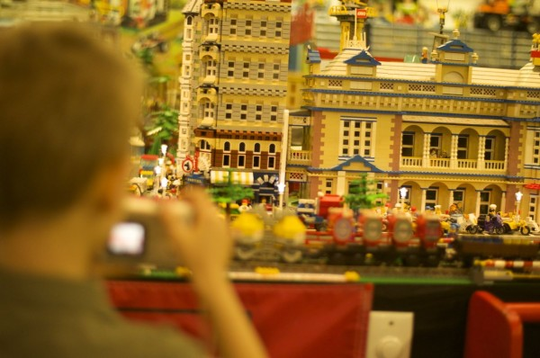 Photographing the lego land